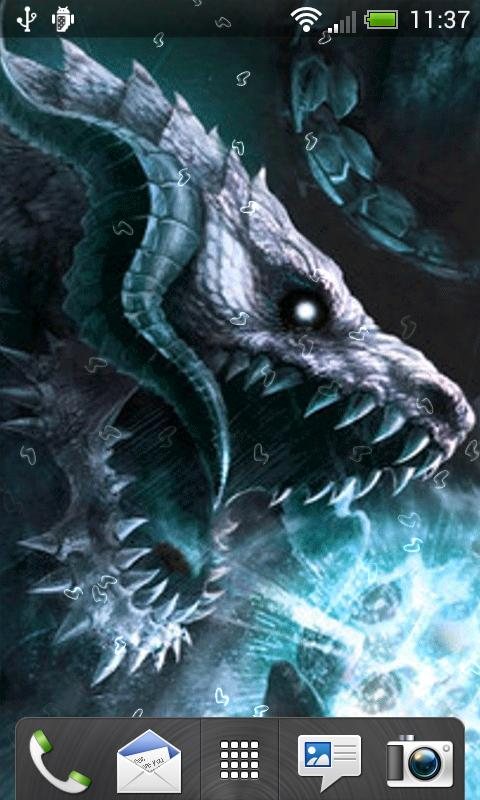 Dragons Live Wallpaper - screenshot