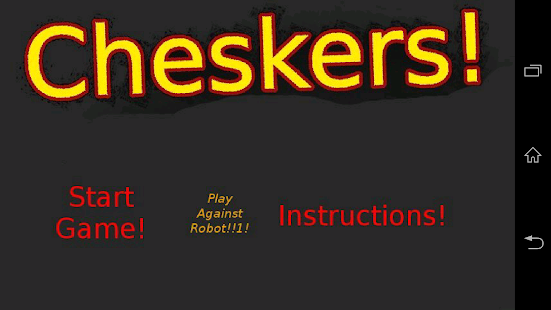Cheskers! - screenshot thumbnail