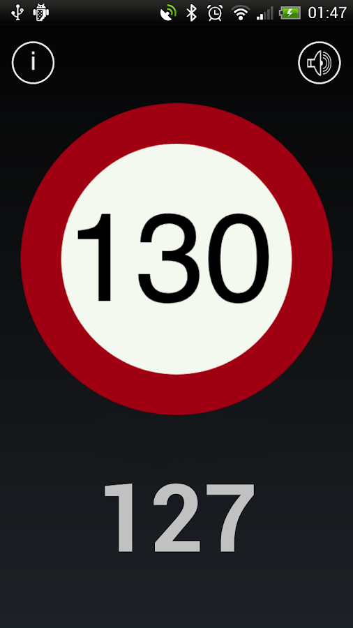 SpeedAlert Realtime - screenshot