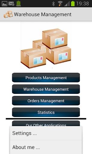 Warehouse Management  screenshots 1