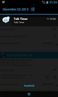 Screenshot of Talk Timer