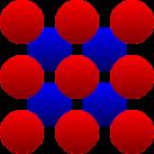 Atom 3D icon