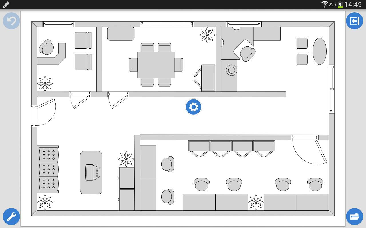 Grapholite diagrams pro aplicaciones de android en for Croquis de oficinas administrativas