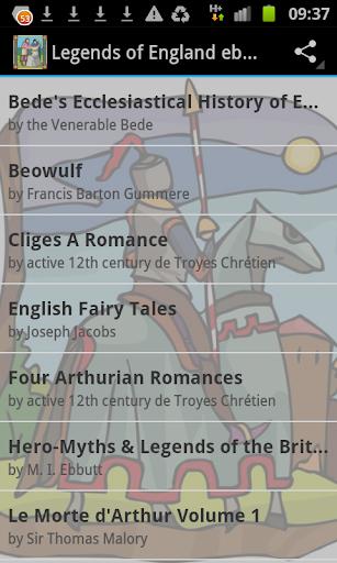 Legends of England ebooks