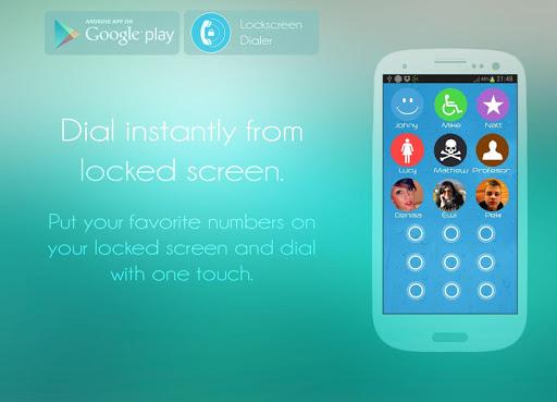 Lockscreen Dialer- Unlocker