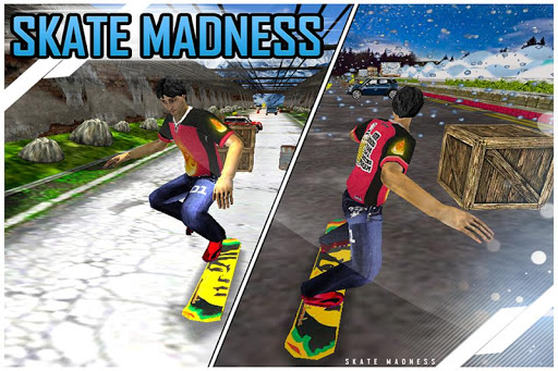 Skate Madness 3D Racing Game