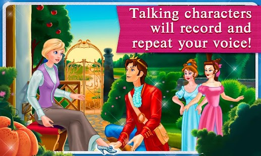 Cinderella Dress Up & Story - screenshot thumbnail