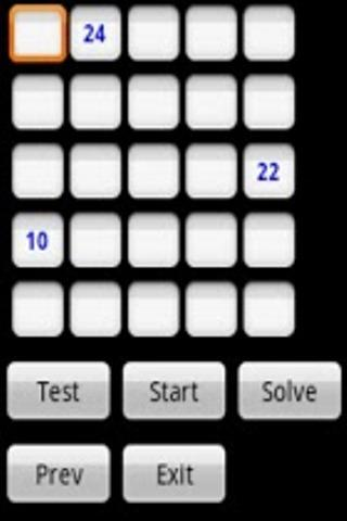 Magic Square Puzzle - screenshot