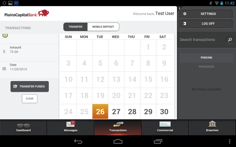 Mobile Bank - screenshot