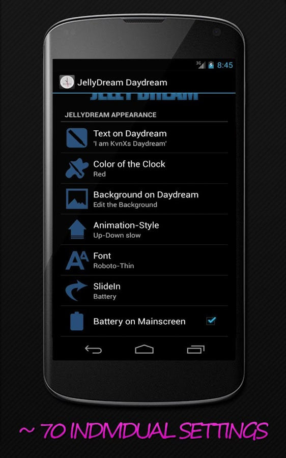 JellyDream Daydream Pro - screenshot