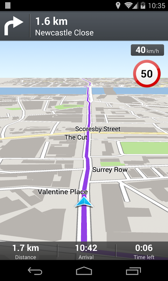 Wisepilot GPS-Navigator TRIAL - screenshot
