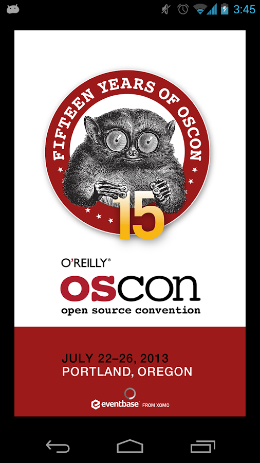 OSCON - screenshot