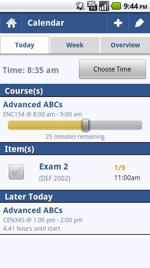 Grades: Student Organizer - screenshot