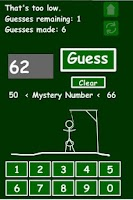 Screenshot of Mystery Number
