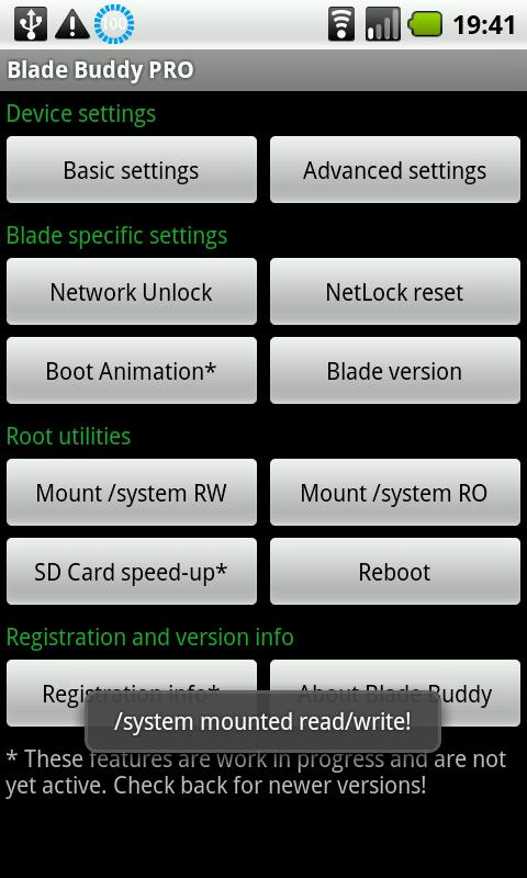 Blade Buddy PRO - screenshot