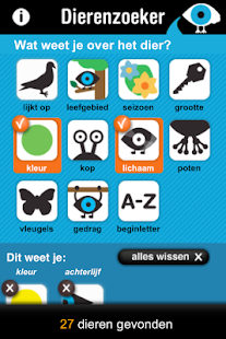 Dierenzoeker- screenshot thumbnail