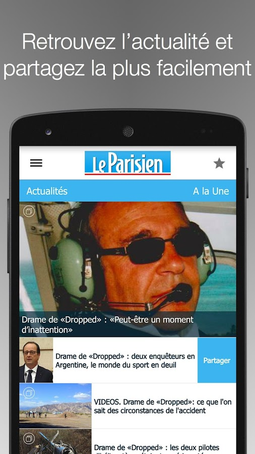 Le Parisien - Info France - screenshot