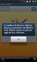Screenshot of Saldo Wind App Free
