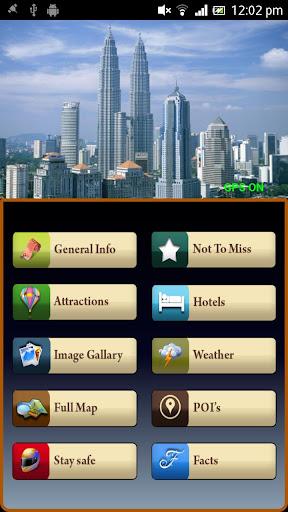 Kuala Lumpur Offline Map Guide