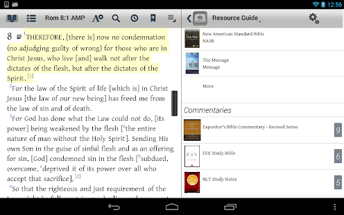 Amplified: The Bible Study App - screenshot thumbnail