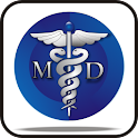 Medical Symbol MD doo-dad logo