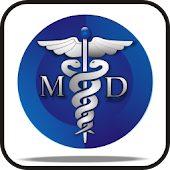 Medical Symbol MD doo-dad
