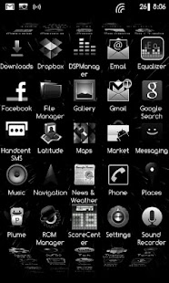 DarkGinger Theme CM7 (Donate) - screenshot thumbnail