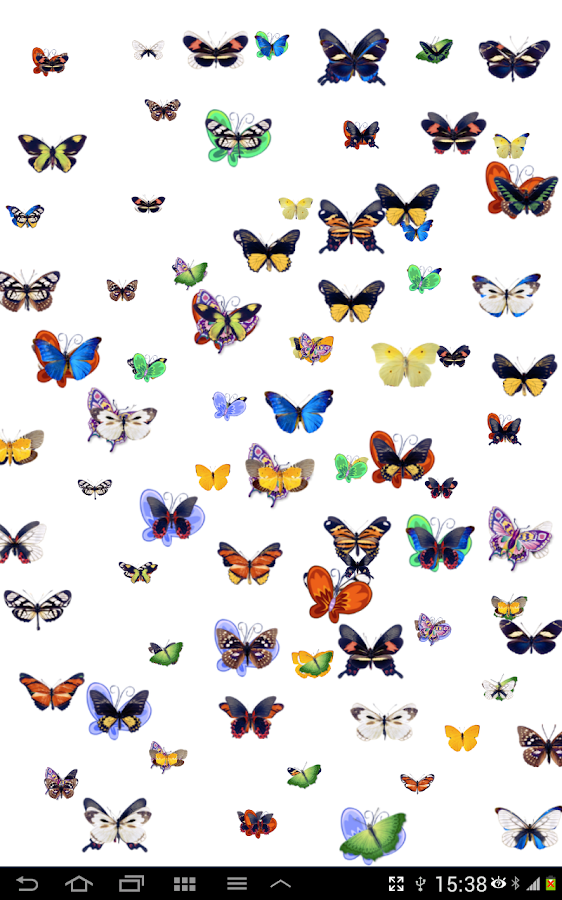 Draw your name with butterfly - screenshot