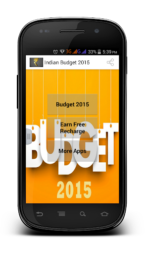 Indian Budget 2015