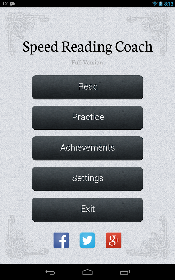 Speed Reader- screenshot