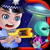 Police Hero - Alien Invasion