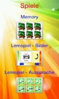 Screenshot of Elif Ba Learning Game - German
