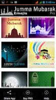 Screenshot of Jumma Mubarak Emojis - PRO