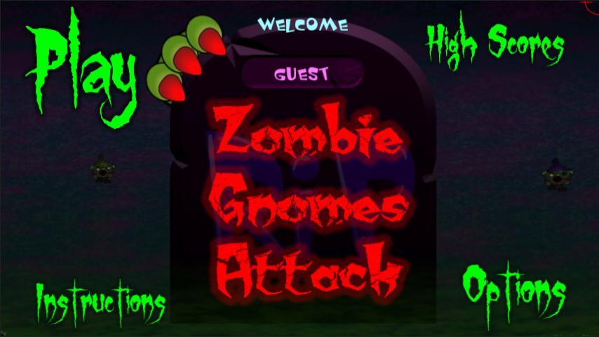Zombie Gnomes Attack- screenshot
