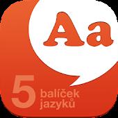 Slovník do kapsy - 5 jazyků