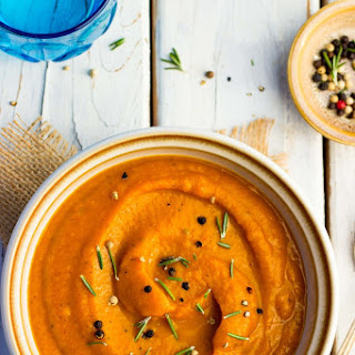 Roasted Root Vegetable Soup.