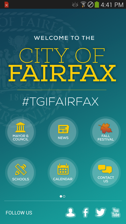 City of Fairfax- screenshot