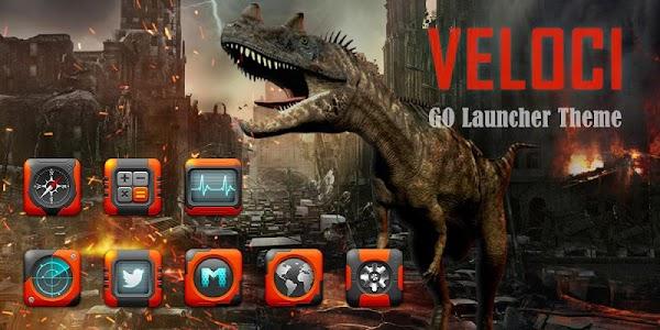 VELOCI GO Launcher Theme v1.0
