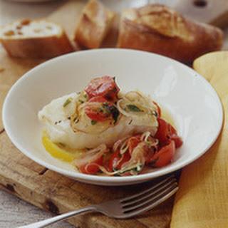 Tarragon-Tomato Fish
