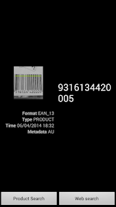 Quick Barcode Scanner screenshot 3