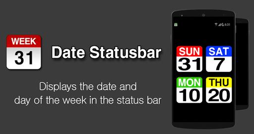 Date Statusbar