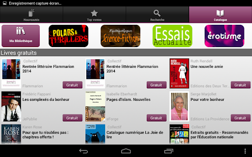 Numilog eBook Reader - screenshot thumbnail