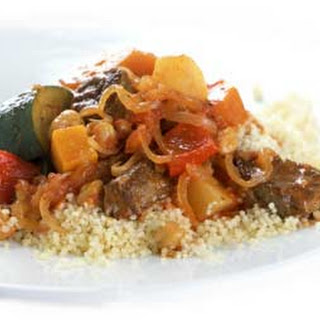 Couscous with Lamb Stew.