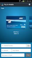Screenshot of ANZ goMoney Australia