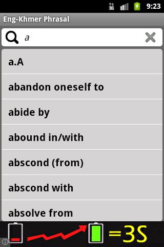 English Khmer Phrasal Verbs