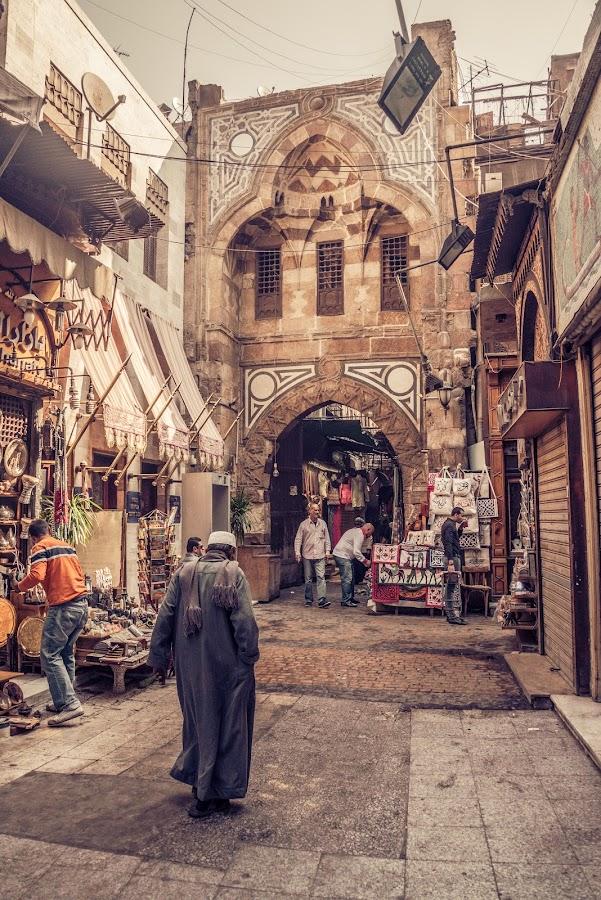Khan el-Khalili market by Craig Bennett - City,  Street & Park  Historic Districts ( traders, market, khan el-khalili market, cairo, souk, touts, vendors, bazaar, egypt )
