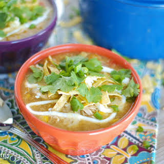 White Chicken Chili Soup.