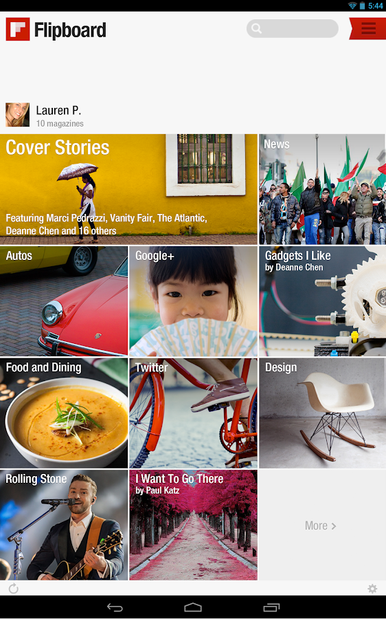 Flipboard: Your News Magazine - screenshot