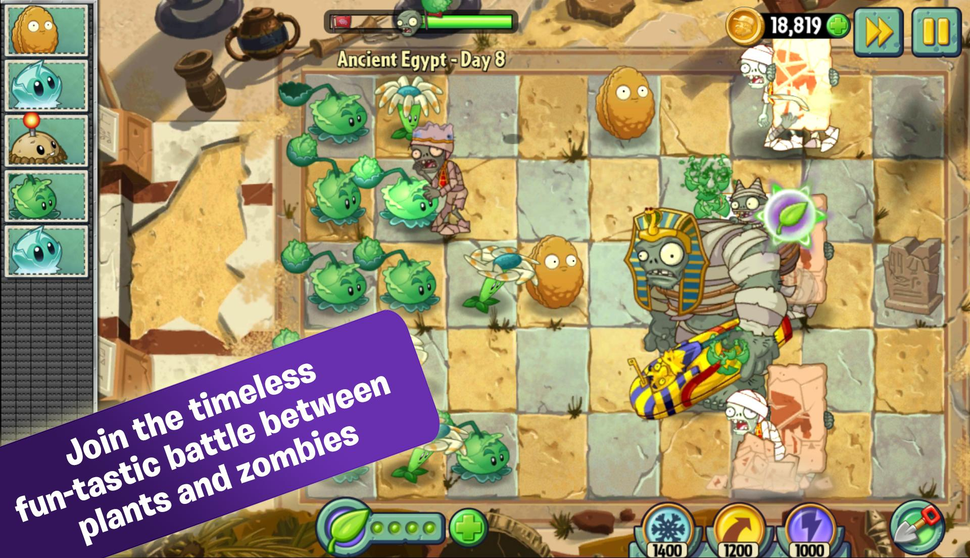 Plants vs. Zombies 2 screenshot #1
