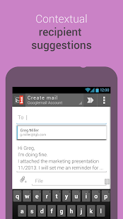 mailbeat email app/mail client- screenshot thumbnail